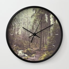 The paths we wander Wall Clock