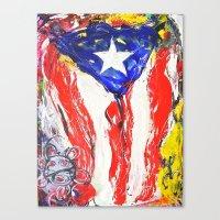 puerto rico Canvas Prints featuring Puerto Rico by Joel Gonzalez