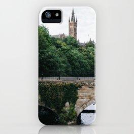 The Kelvingrove in Glasgow, Scotland iPhone Case