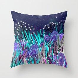 Plantes extraterrestres Throw Pillow