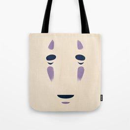 Spirited Away - No Face Minimalist, Miyazaki, Studio Ghibli Tote Bag