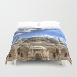 The Blue Mosque Istanbul Duvet Cover