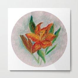 Flor III (Flower III) Metal Print