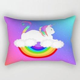 Unicorn Cat Rectangular Pillow