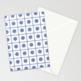 Portuguese Tiles IV Stationery Cards