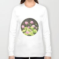lotus flower Long Sleeve T-shirts featuring Lotus by Carla Adol
