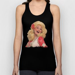 Dolly Parton - Watercolor Unisex Tank Top