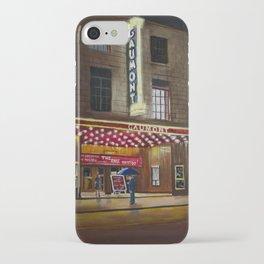 The Gaumont Cinema Aberdeen oil painting iPhone Case