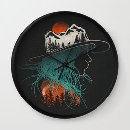 Aurora... Wall Clock