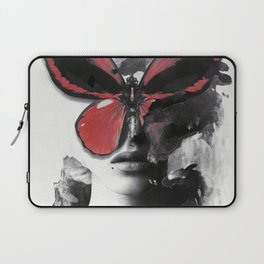 Red Butterfly Laptop Sleeve