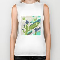 tequila Biker Tanks featuring Tequila Party by Bakal Evgeny