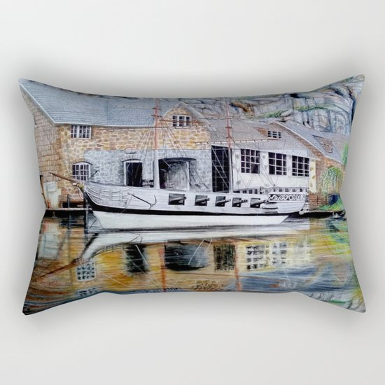 THE Penny Royal Complex Rectangular Pillow