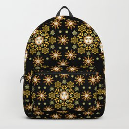 Snow Flake by ©2018 Balbusso Twins Backpack