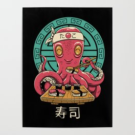 Octo Sushi Poster