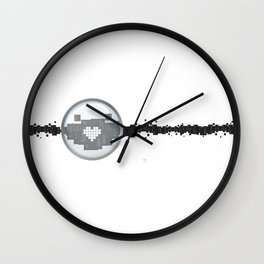 Magnify the one within Wall Clock