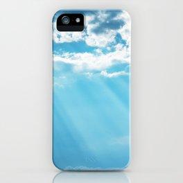 Sunny, blue sky iPhone Case