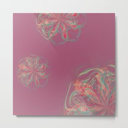 Phantom Petals Metal Print