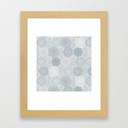 Silver Souk Framed Art Print