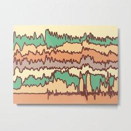 Your Brain, Sleepwalking Metal Print