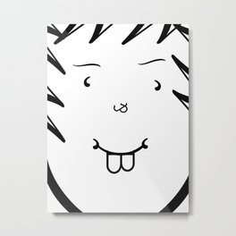 Type Face Metal Print