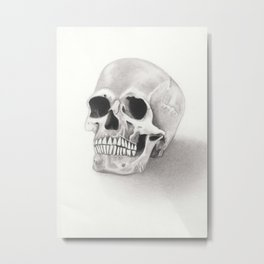 The Ex Metal Print