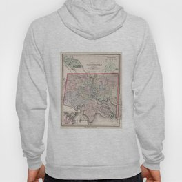 Vintage Map of Baltimore MD (1876) Hoody