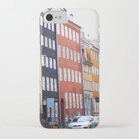 copenhagen iPhone & iPod Cases featuring Copenhagen by Anya Kubilus