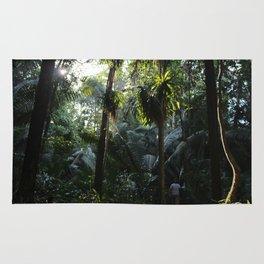 Lush Belizean Jungle Rug