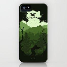 Hunting Season - Green iPhone Case