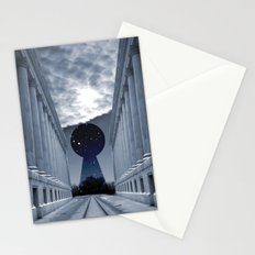 Keyhole to Infinity Stationery Cards