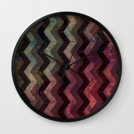 Pattern R2 Wall Clock