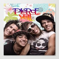 pierce the veil Canvas Prints featuring Pierce The Veil best birthday and Christmas gift unisex gift by customgift