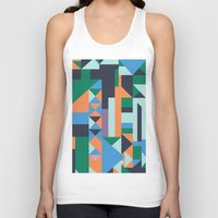 hunter Tank Tops featuring Hunter by La Señora