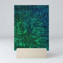 Hongoland-Holiday pattern Mini Art Print