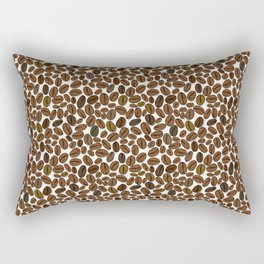 Coffee beans pattern Rectangular Pillow