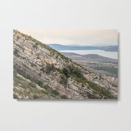 French lake view Metal Print