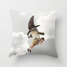 third beat II Throw Pillow