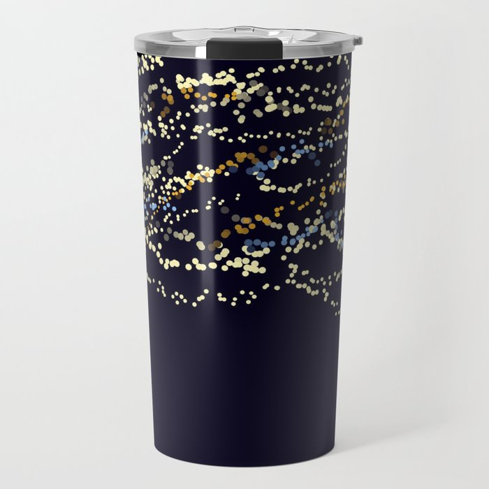 Fairy Lights, Or: A Distant City at Night Travel Mug