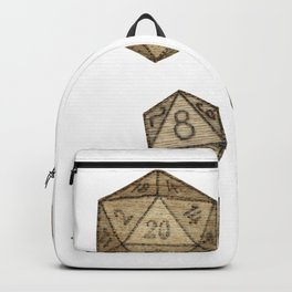 Wooden Dice Backpack