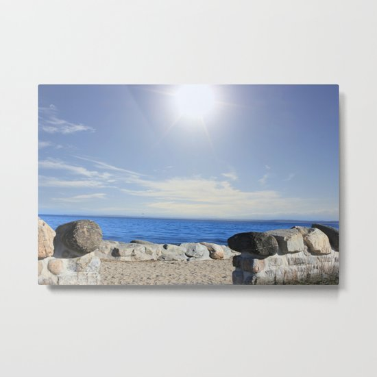 Beauty In The Distance Metal Print