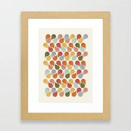 retro pattern no4 Framed Art Print