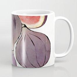 figs still life botanical watercolor Coffee Mug