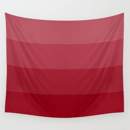Four Shades of Red Wall Tapestry