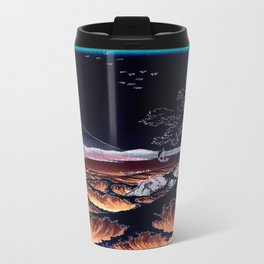 The Sea at Satta. Dark Travel Mug