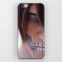 titan iPhone & iPod Skins featuring Titan by 3dbrooke