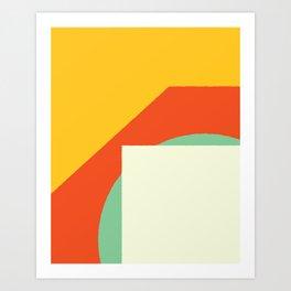 Cacho Shapes XCV Art Print