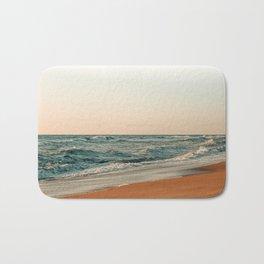 Ocean Orange Bath Mat
