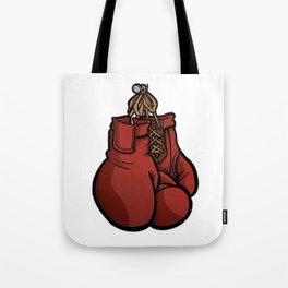 Boxing Gloves Illustration Tote Bag