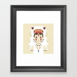 The Spirit Princess Framed Art Print