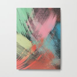 Abstract Printing 4 Metal Print
